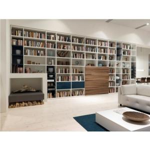 Большой открытый библиотечный стеллаж