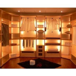 П-образный гардеробный стеллаж