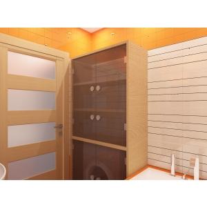Шкаф в ванную Сириль