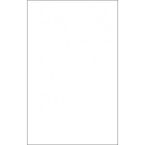 Фасад из белого пластика Aсryline