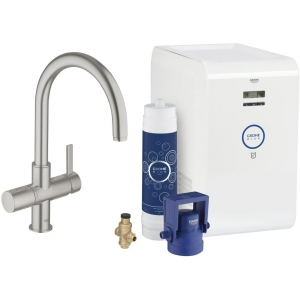 GROHE Blue Chilled  31382DC0 суперсталь
