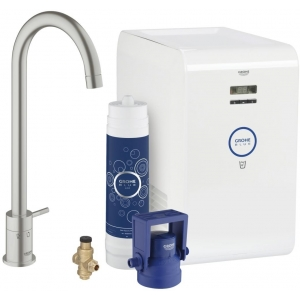 GROHE Blue Chilled 31384DC0 суперсталь