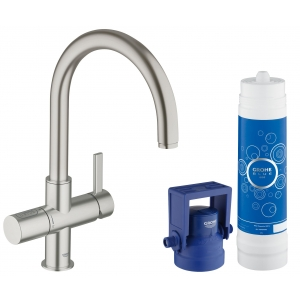 GROHE Blue Pure 33249DC1 суперсталь