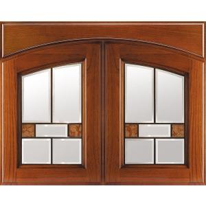 Комплект арочных фасадов со стеклом Аризона