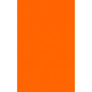 Фасад из оранжевого пластика Acryline