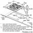 Схема встраивания газовой варочной поверхности Neff T62S26S1